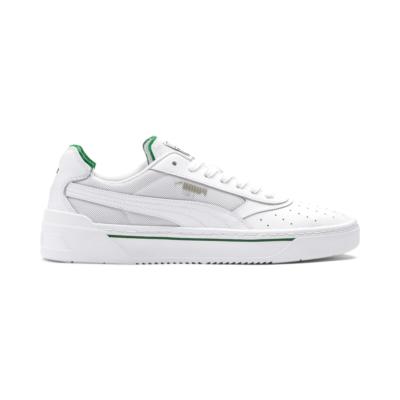 Puma Cali-0 sneakers voor Heren Wit / Groen 369337_02
