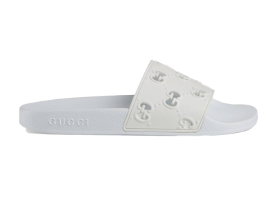Gucci Slide White Rubber (W) 573922 JDR00 9014