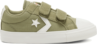 Converse Ripstop Easy-On Star Player Low Top voor peuters Street Sage/Vintage White 767548C