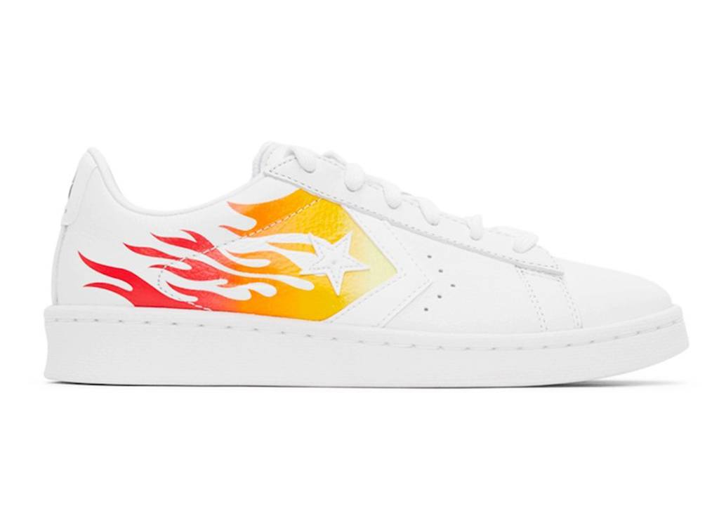 Vuur voor je weekend! Converse Pro Leather OX Flame