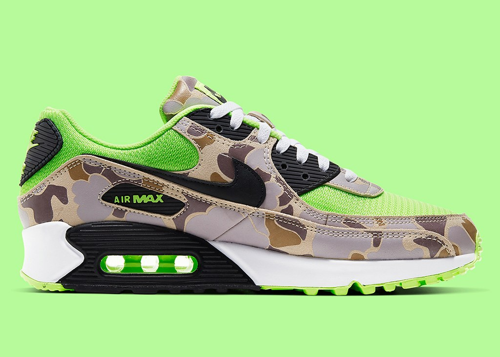 Nike Air Max 90 Ghost Green Duck Camo: Gaaf of vaag?