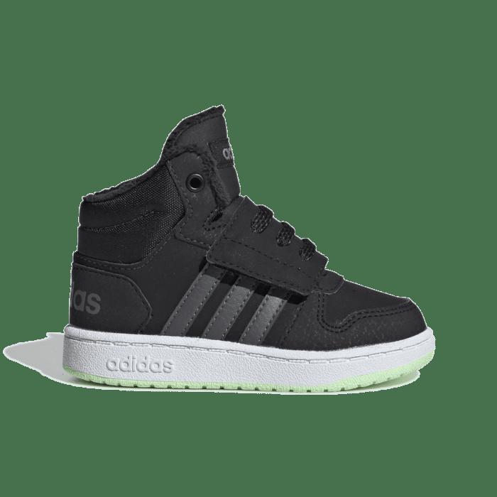 adidas Hoops 2.0 Mid Core Black EE6711
