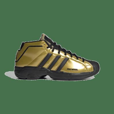 adidas Pro Model 2G Shelltoe 50 Gold Metallic FV8922
