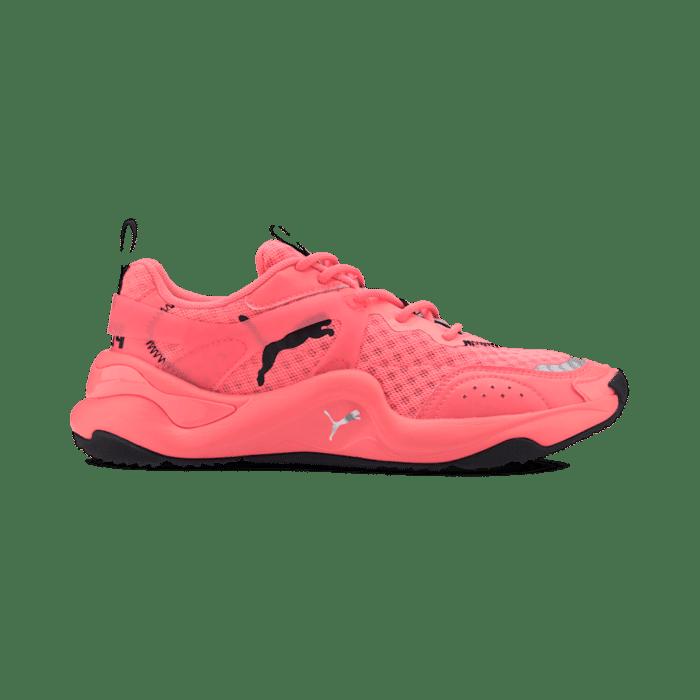 Puma Rise Neon sportschoenen voor Dames Roze 372444_02