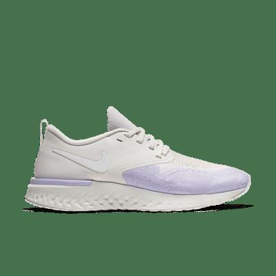 Nike Odyssey React Flyknit 2 Zilver AH1016-005
