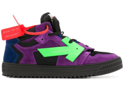 Off-White Off Court Low Top Purple Green OMIA151R20D380592940