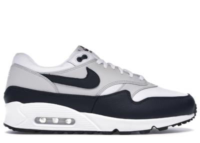 Nike Air Max 90/1 White Dark Obsidian AJ7695-105