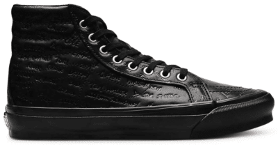 Vans Sk8-Hi LX Jim Goldberg Black Leather VN0A4BVB00V