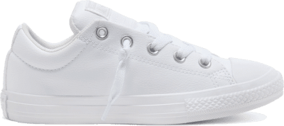 Converse Big Kids Chuck Taylor All Star Street Slip Low Top White 651782C