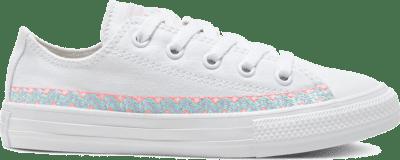 Converse Friendship Bracelet Chuck Taylor All Star Low Top voor kids White/Moonstone Violet/White 667785C