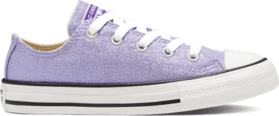 Converse Summer Sparkle Chuck Taylor All Star Low Top voor kids Moonstone Violet/Natural Ivory 667572C