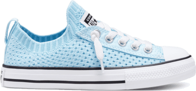 Converse Summer Knit Chuck Taylor All Star Knit Instapper voor kids Agate Blue/Black/White 667567C
