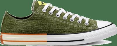 Converse Unisex Happy Camper Chuck Taylor All Star Low Top Cypress Green/Zinc Yellow 167663C