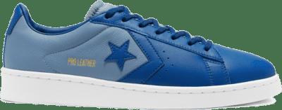 Converse Unisex Pro Leather Low Top Court Blue/Blue Slate/White 167818C