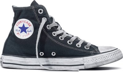 Converse Chuck Taylor All Star Canvas Smoke High Top Black 156886C