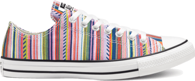 Converse Summer Stripes Chuck Taylor All Star Low Top White/ Black 168293C
