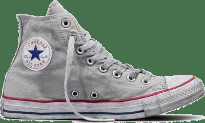 Converse Chuck Taylor All Star Canvas Smoke High Top Grey 156885C