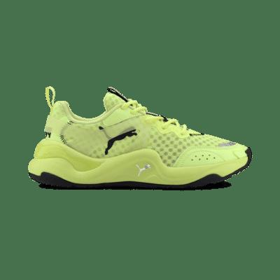 Puma Rise Neon sportschoenen voor Dames Geel 372444_01