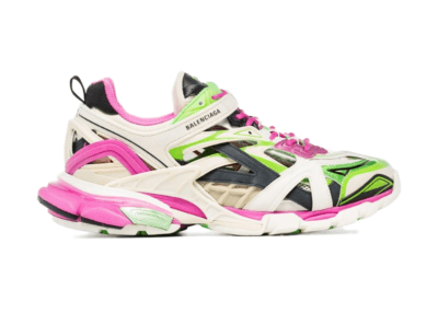 Balenciaga Track.2 Pink Green 568614 W2GN3 9199