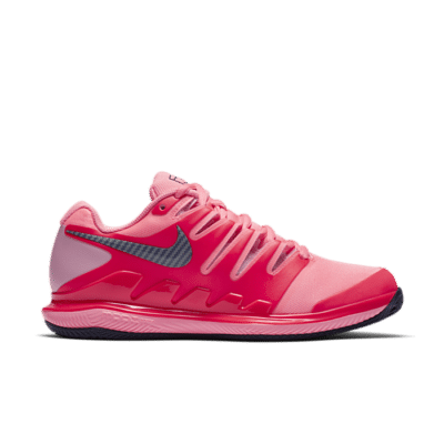 NikeCourt Air Zoom Vapor X Rood AA8025-604