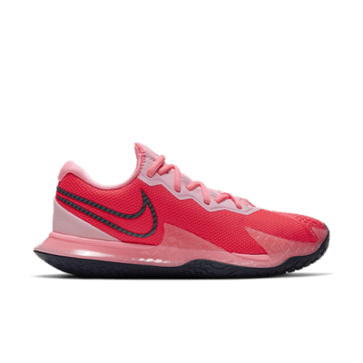NikeCourt Air Zoom Vapor Cage 4 Hardcourt Rood CD0431-604