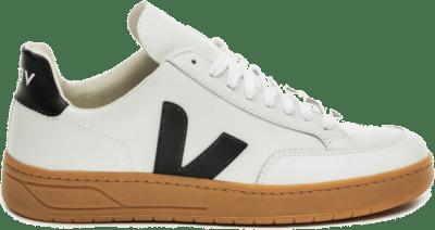 "Veja V-12 Leather ""Extra White Black"" XD021816"