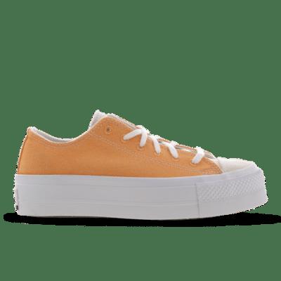 Converse Chuck Taylor All Star Platform Low Orange 567855C