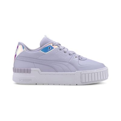 Puma Cali Glow sportschoenen voor Dames Wit / Paars 373083_02