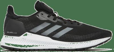 Adidas solar blaze hardloopschoenen zwart/grijs heren zwart/grijs