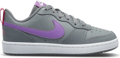 Nike Court Borough Low 2 Sneakers Kids Grijs Paars Grijs BQ5448-006