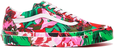 Vans Old Skool KENZO Floral Red White VN0A4P3X02G