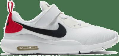 Nike Air Max Oketo Sneakers Klittenband Kids Wit Zwart Rood Wit AR7420-102