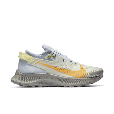 Nike Pegasus Trail 2 Pure Platinum Fossil Laser Orange (W) CK4309-001