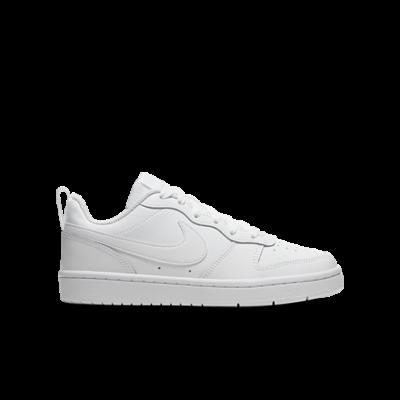 "Nike COURT BOROUGH LOW 2 (GS) ""WHITE"" BQ5448-100"