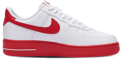 "Nike Air Force 1 '07 ""University Red"" CK7663-102"
