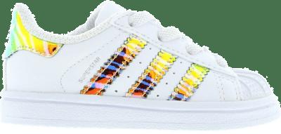adidas Superstar Zebra Iridescent White BC0290