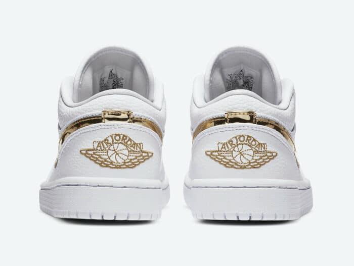 metallic gold nike Jordan 1