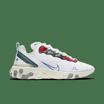Nike React Element 55 Wit CZ7375-100