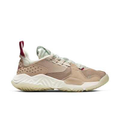 Women's Jordan Delta 'Vachetta Tan' Shimmer/Light Cream/Gym Red/Sail CT1003-200