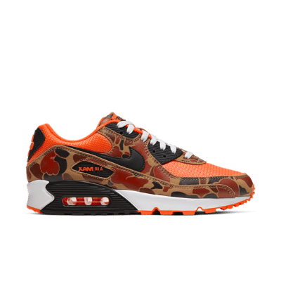 Nike Air Max 90 'Orange Duck Camo' Total Orange/Black CW4039-800