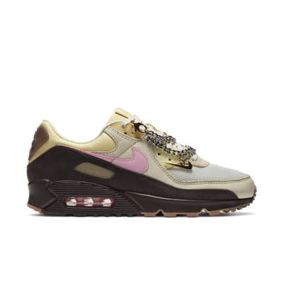 Nike Women's Air Max 90 'Velvet Brown' Velvet Brown/Light British Tan/Baroque Brown/Pink CZ0469-200