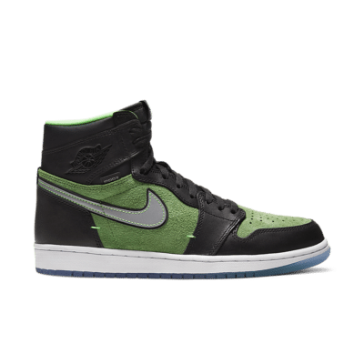 Air Jordan 1 Zoom 'Zen Green' Black/Tomatillo/Rage Green/Black CK6637-002