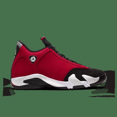 Air Jordan 14 'Gym Red' Black/White/Off-White/Gym Red 487471-006
