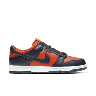 Nike Dunk Low 'Champ Colors' University Orange/Marine/Marine CU1727-800