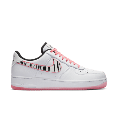 Nike Air Force 1 'White Tiger' White/Multi-Colour/Black CW3919-100