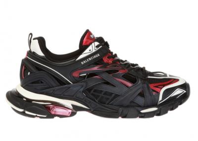 Balenciaga Track 2 Black Burgundy 568614 W2GN3 6000