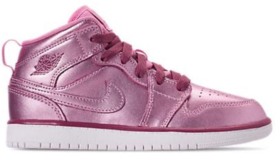 Jordan 1 Mid Pink Rise (PS) AV5173-640