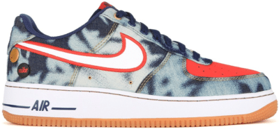Nike Air Force 1 Low Acid Washed Denim 630930-400