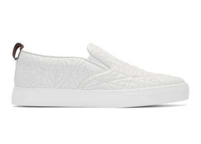 Gucci G Rhombus Slip-On White 5988680R0B09062