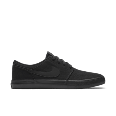 Nike Portmore 2 Canvas SB 'Black' Black 880268-001
